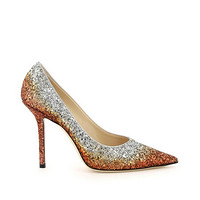 JIMMY CHOO 周仰杰 LOVE 100 VKG COPPERSILVE 女士高跟鞋