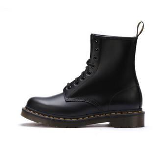 Dr.Martens 马汀博士 1460系列 11821006 经典款 女士硬皮光面8孔马丁靴