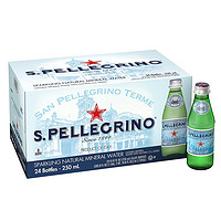 S.PELLEGRINO 圣培露 气泡水 250m*24瓶