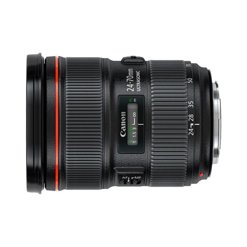 Canon 佳能 EF 24-70mm F2.8L II USM 标准变焦镜头 佳能EF卡口 82mm
