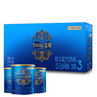 MeadJohnson Nutrition 美赞臣 蓝臻 幼儿配方奶粉 3段 400克*3罐