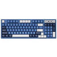 PLUS会员:Akko 艾酷 3098 DS 海洋之星 机械键盘 98键 V2蓝轴