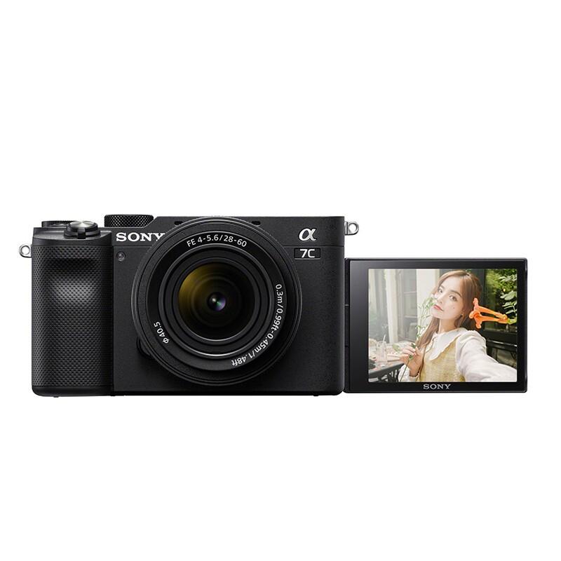 SONY 索尼 Alpha 7CL 全画幅 微单相机 黑色 FE 28-60mm F4 变焦镜头 单头套机
