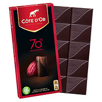 COTE D'OR 克特多金象 70%可可 黑巧克力 100g