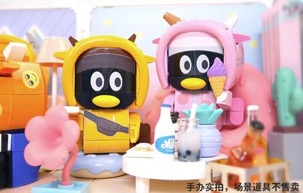 Tencent 腾讯 QQfamily UPUP牛系列积木盲盒 单个(随机1款)