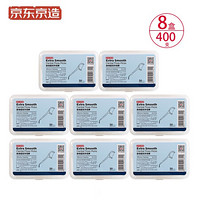 京東京造 超細圓線牙線棒 50支/盒 8盒裝 細滑牙線棒