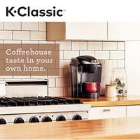 Keurig 經典系列咖啡機 家用商用咖啡沖泡器 3種濃度選擇 清潔輕松 自動關閉 可移動儲水箱