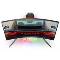 AOC 冠捷 AGON系列 PD27 爱攻&保时捷联名定制款 27英寸 VA 曲面 显示器(2560*1440、240Hz、119%sRGB、HDR400)