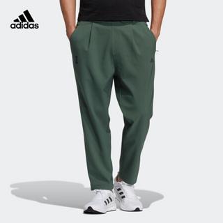 阿迪达斯官网 adidas WJ PNT WV WARM 男装训练运动裤装GP0890 绿 A/M(175/80A)