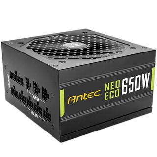 安钛克金牌550W电源额定550W全模组电脑台式机静音主机电源NE550W