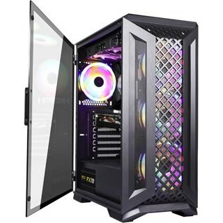 BUBALUS 大水牛  暗鲨 活页玻璃侧透台式电脑主机箱(支持ATX主板)