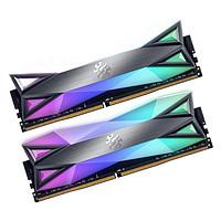 ADATA 威刚 XPG系列 龙耀 D60G DDR4 3200MHz RGB 台式机内存