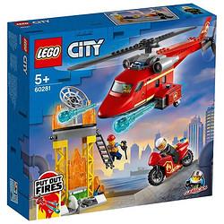 LEGO 乐高 City 城市系列 60281 消防救援直升机