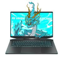 MECHREVO 机械革命 蛟龙7 17.3英寸 游戏笔记本电脑(R9-5900HX、32G、1TB+2TB、RTX 3080、100%sRGB、2K)