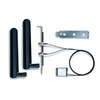 英特尔 intel wifi6 AX200 台式机蓝牙5.0双频千兆5G电脑内置Intel独立网络wifi接收器