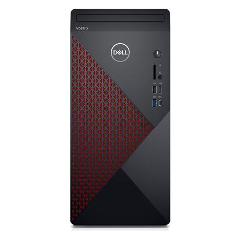 DELL 戴尔 成就5890 商用办公台式电脑主机(i7-11700F、16G、256GB+2T、AMD RX640 4G独显)