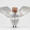 XQ 稀奇 稀奇藝術 瞿廣慈《節慶天使》23X12X36cm 雕塑 玻璃鋼烤漆