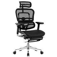 Ergonor 保友办公家具 金豪系列 e精英版电脑椅 黑色 美国网+躺舒宝