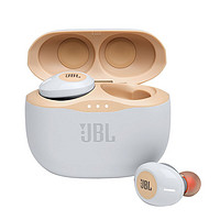 JBL 杰宝 TUNE125TWS 升级版 入耳式真无线蓝牙耳机 香槟金