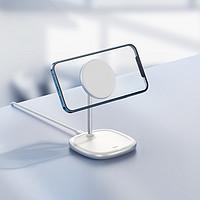 倍思磁吸桌面支架无线充电器 iPhone12专用