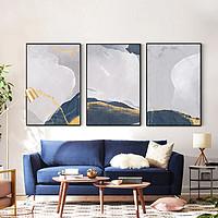 寓义 蓝海系列沙发背景墙装饰画