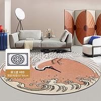 雁舍 国风新中式 定制地毯