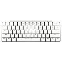 iKBC W200 mini 61键 2.4G无线机械键盘 白色
