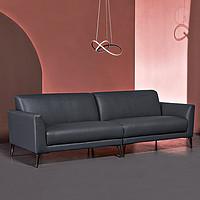 8H Alta 轻奢意式科技布沙发 三人位