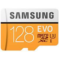 SAMSUNG 三星 EVO系列 MicroSD存储卡 128GB