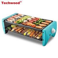 Techwood 天狐 电烧烤炉 GR-106A标准款 多功能料理烤盘+烤网