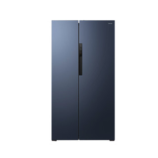 WAHIN 华凌 耀目蓝系列 BCD-598WKPZH 单循环 风冷对开门冰箱 598L 蓝色