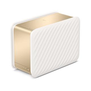 Lenovo 联想 个人云存储T2 私有云 双盘位 NAS存储(RTD1296、2GB、4TB*1)