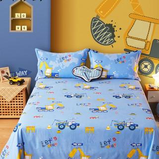 BEYOND 博洋 儿童床单单件纯棉床笠幼儿园男孩100全棉可爱卡通被单1.5夏季
