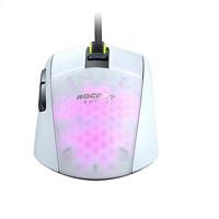 ROCCAT 冰豹 极光豹 BURST 精英版 有线鼠标 16000DPI RGB 白色
