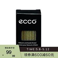 ECCO爱步 磨砂皮/翻毛皮橡皮 9033700 无色903370000100 均码