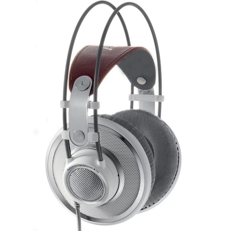 AKG 爱科技 K701 耳罩式头戴式有线耳机 银色