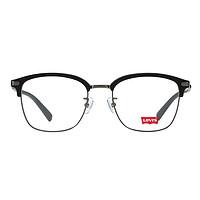 Levi's 李维斯 LS04038ZB-C03 中性板材光学眼镜架 磨砂黑