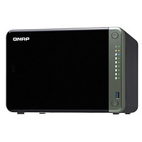 QNAP 威联通 TS-653D-4G 企业级NAS网络存储 6盘位