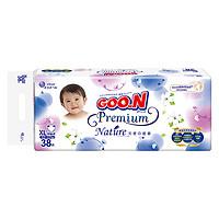 GOO.N 大王 天使自然之恩系列 婴儿纸尿裤 XL38片
