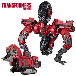 Transformers 变形金刚 Hasbro 孩之宝 变形金刚 经典电影系列 领袖级 E7216 清扫机
