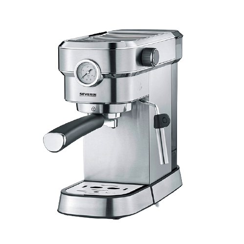 SEVERIN ART.-NO.KA5995 半自动咖啡机 银色