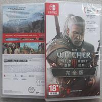 任天堂switch游戏 NS巫师3 巫师3 狂猎 带全DLC 中文年度版