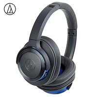 20日0点:audio-technica 铁三角 WS660BT 头戴式蓝牙HIFI耳机