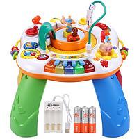 PLUS会员:GOODWAY 谷雨 儿童多功能游戏学习桌 (充电版)