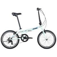 XDS 喜德盛 Z2 20英寸铝合金折叠自行车