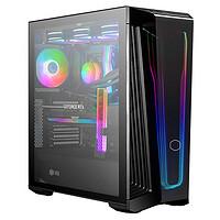 酷冷至尊MB540/MB600LV2智瞳中塔机箱(钢玻侧板/拉丝前面板/独立电源仓)全侧透明电脑机箱 MB540/MasterBox 540