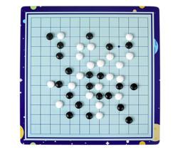 QZM 巧之木 儿童益智玩具 新款五合一(五子棋+象棋+围棋+飞行棋+跳棋)