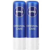 NIVEA 妮维雅 天然型润唇膏 4.8g*2