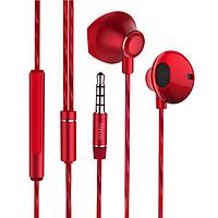 Biaze 毕亚兹 E8 入耳式降噪有线耳机 红色 3.5mm