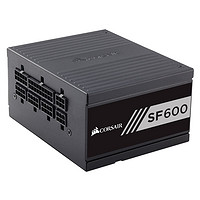 USCORSAIR 美商海盗船 SF600 金牌(90%)全模组SFX电源 600W